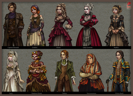 Characters of Cinders