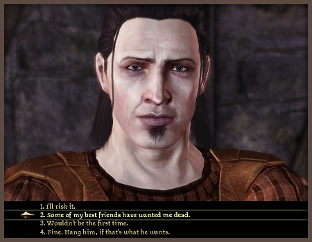 Dragon Age did this surprisingly well.