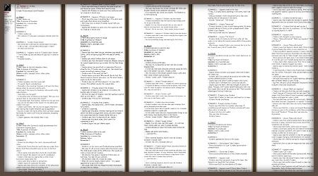 Cinders script
