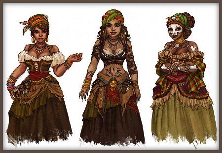 Madame Ghede concept art