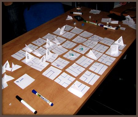 Analogue game prototype? Sure, why not.