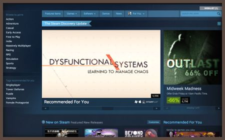 The new Steam