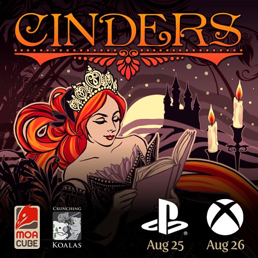 Cinders coming to PS4 and XBOX ONE