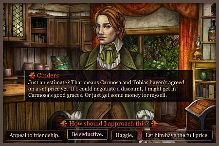 Choices in Cinders