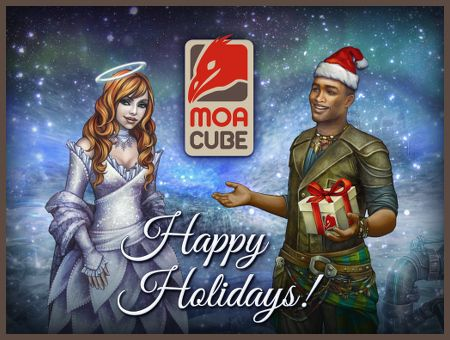Happy Holidays from MoaCube