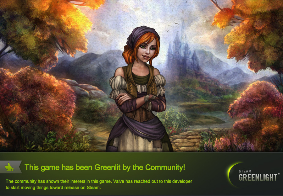 Cinders has been Greenlit by the Community!